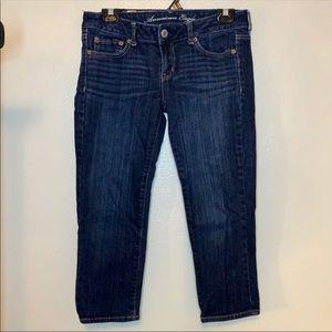 American Eagle Skinny Crop length jeans